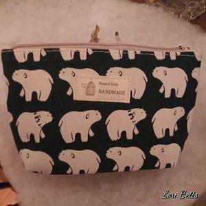 Polar Bear Make-up Bag NEW